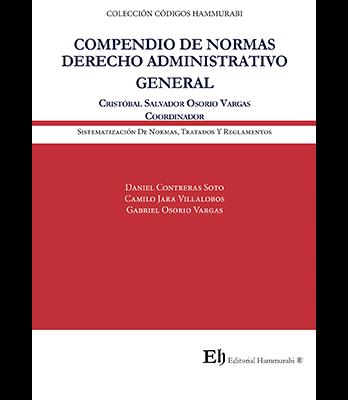 """COMPENDIO DE NORMAS DERECHO ADMINISTRATIVO GENERAL """"Libro digital"""""""