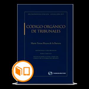 CÓDIGO ORGÁNICO DE TRIBUNALES 2019