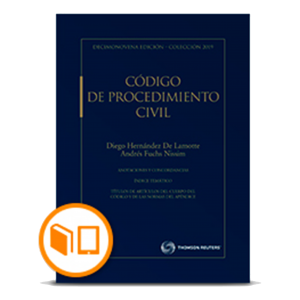 CÓDIGO DE PROCEDIMIENTO CIVIL 2019