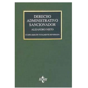 DERECHO ADMINISTRATIVO SANCIONADOR (De Editorial Tecnos)