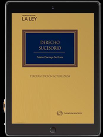 DERECHO SUCESORIO 3ª ED (Solo Digital)