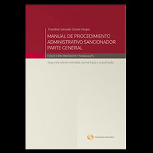 MANUAL DE PROCEDIMIENTO ADMINISTRATIVO SANCIONADOR. PARTE GENERAL 2DA EDICIÓN
