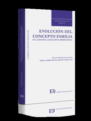 EVOLUCIÓN DEL CONCEPTO FAMILIA  EN LA DOCTRINA, LEGISLACIÓN Y JURISPRUDENCIA