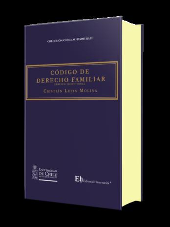 CÓDIGO DE DERECHO FAMILIAR Edición Profesional – Edición de lujo – Tapa dura
