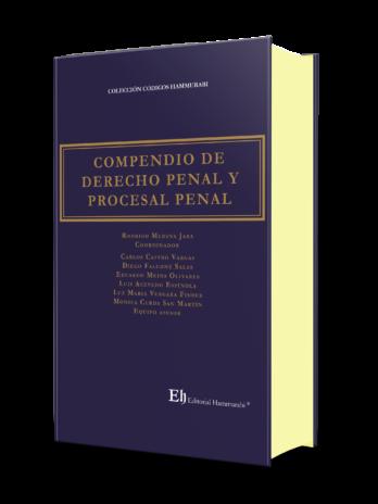 COMPENDIO DE DERECHO PENAL Y PROCESAL PENAL Edición Profesional – Edición de lujo – Tapa dura