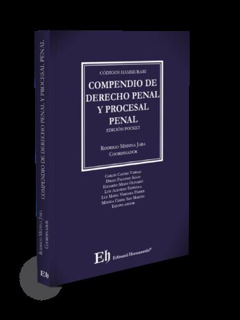 COMPENDIO DE DERECHO PENAL Y PROCESAL PENAL Edición pocket