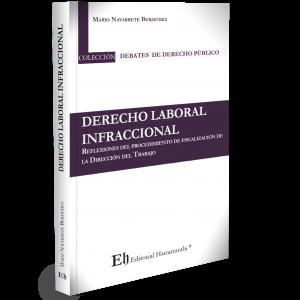 DERECHO LABORAL INFRACCIONAL Reflexiones del procedimiento de fiscalización de la Dirección del Trabajo (Próximamente)