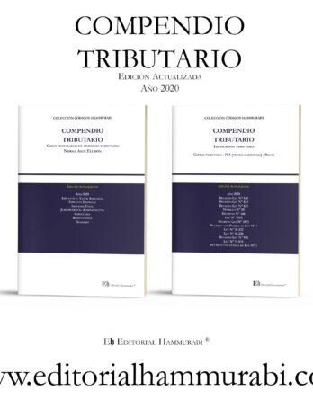 PACK COMPENDIO TRIBUTARIO 2 Tomos