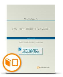 CASO FORTUITO O FUERZA MAYOR. 3 EDICIÓN