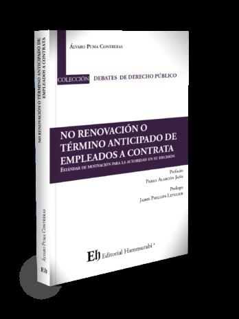 NO RENOVACIÓN O TÉRMINO ANTICIPADO DE EMPLEADOS A CONTRATA