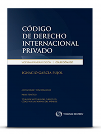CÓDIGO DE DERECHO INTERNACIONAL PRIVADO 2021