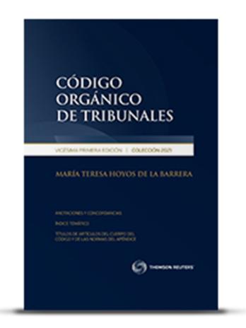 CÓDIGO ORGÁNICO DE TRIBUNALES 2021