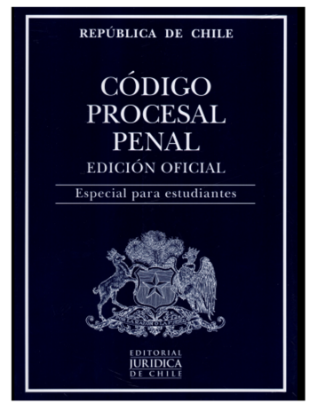 CÓDIGO PROCESAL PENAL – ESTUDIANTES 2021