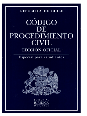 CÓDIGO DE PROCEDIMIENTO CIVIL – ESTUDIANTES 2021