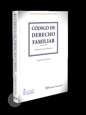 CÓDIGO DE DERECHO FAMILIAR Segunda Edición Pocket